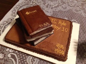 J.C. Ryle Birthday Cake